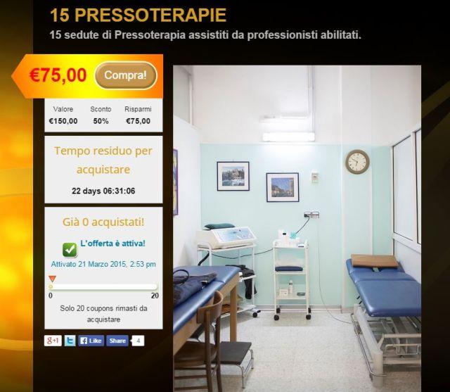 Promozione Pilates al Medical Center Taranto